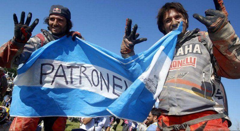 Marcos Patronelli, de andar en motito en la cocina, a ganarle a los nervios y el Dakar