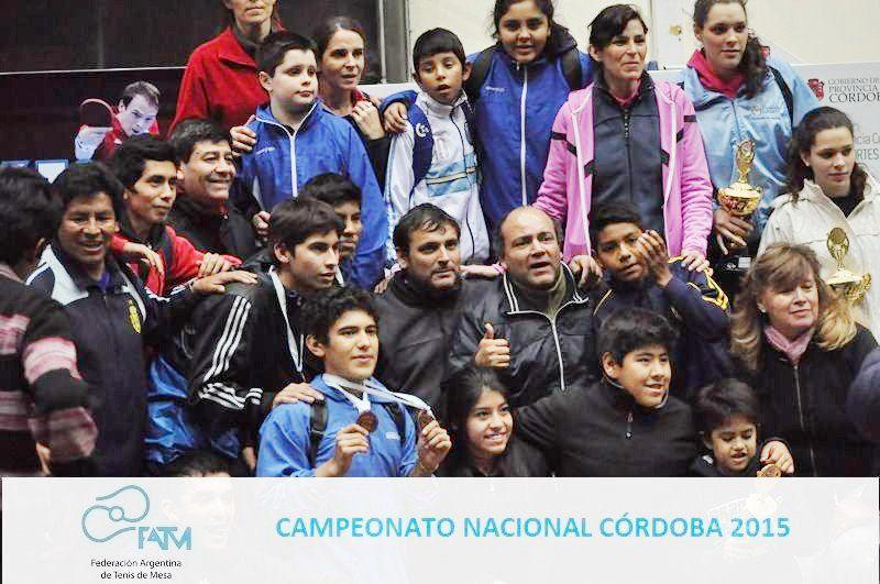 Jujuy logró 18 podios en el Argentino de Córdoba