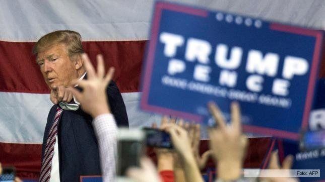 Trump admitió que está detrás de Clinton en las encuestas