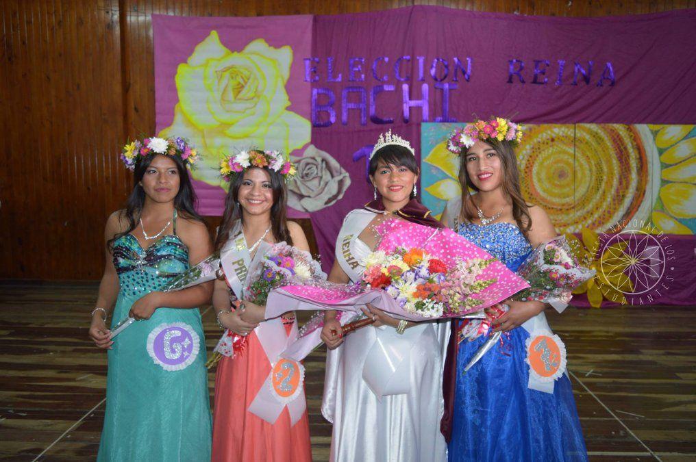 Rebeca es la Reina del Bachillerato Provincial Nº 15