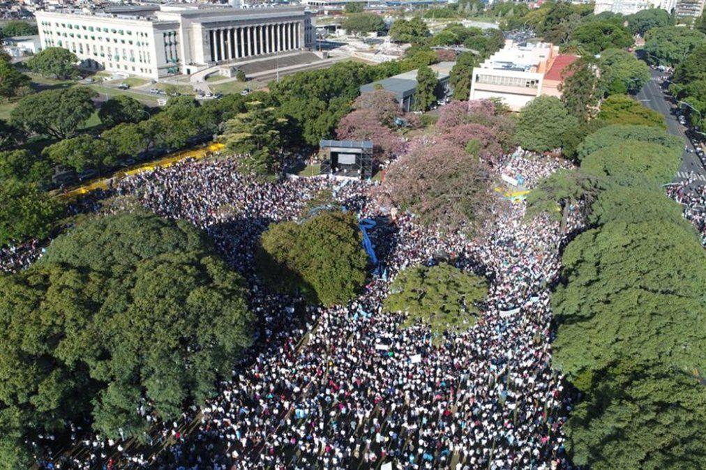 Día del Niño por Nacer: Multitudinaria marcha contra el aborto
