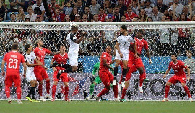 A pesar del empate, Suiza está en octavos