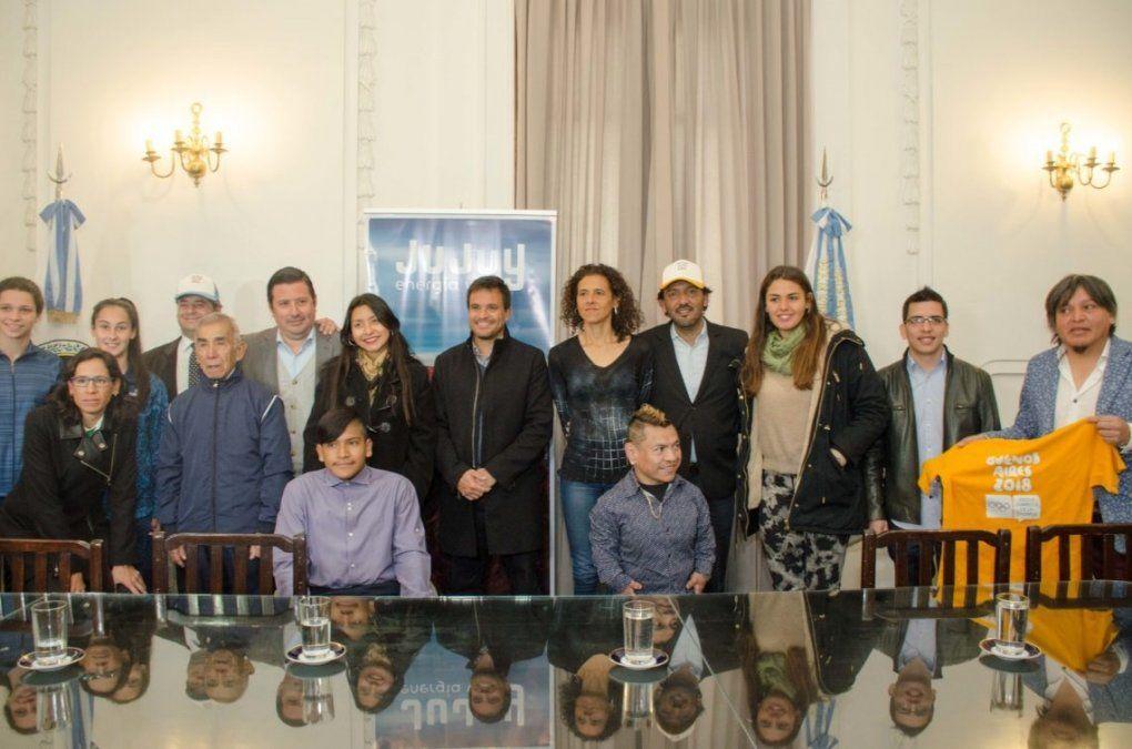 Con la llama olímpica en Jujuy, arranca el recorrido por nuestra ciudad