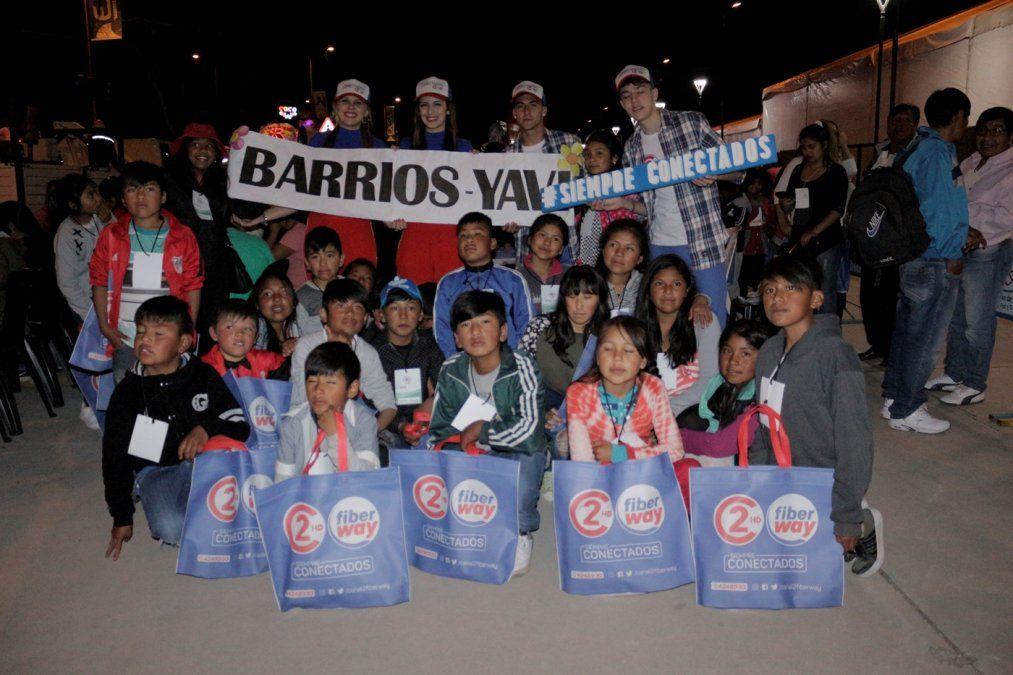 Unos 150 niños de la Puna disfrutan los desfiles por primera vez