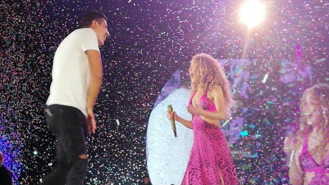 La reacción de Shakira cuando un fan subió al escenario