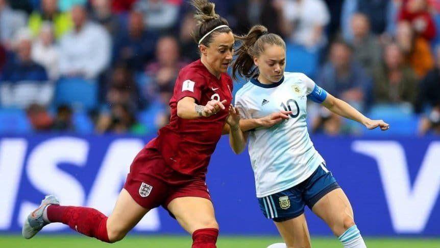 Argentina cayó con Inglaterra en el Mundial de Francia