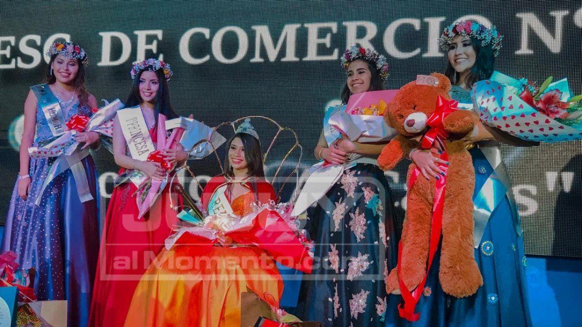 Antonella Jerez, la elegida de la Escuela de Comercio Nº 1