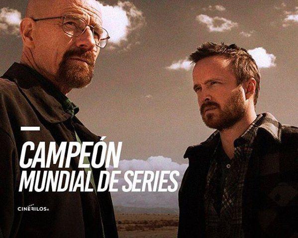 ¡Breaking Bad fue elegida como la mejor serie de todas!