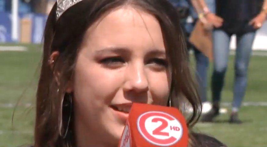 Luciana Garzón Giacoppo disfruta su última etapa como Reina Provincial