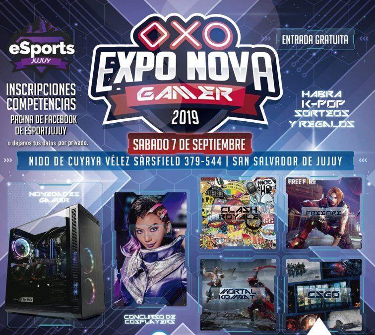 Se viene una expo gamer gratuita en Jujuy