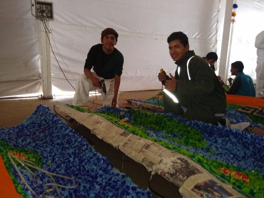 Después de 10 años un colegio de Susques vuelve a participar de la FNE