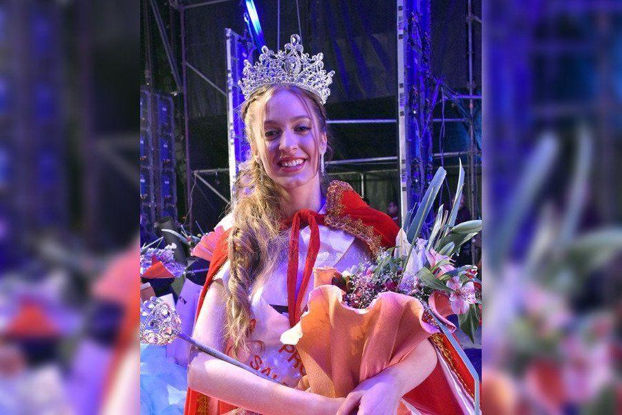 Jimena Victoria Dip es la reina de los estudiantes salteños