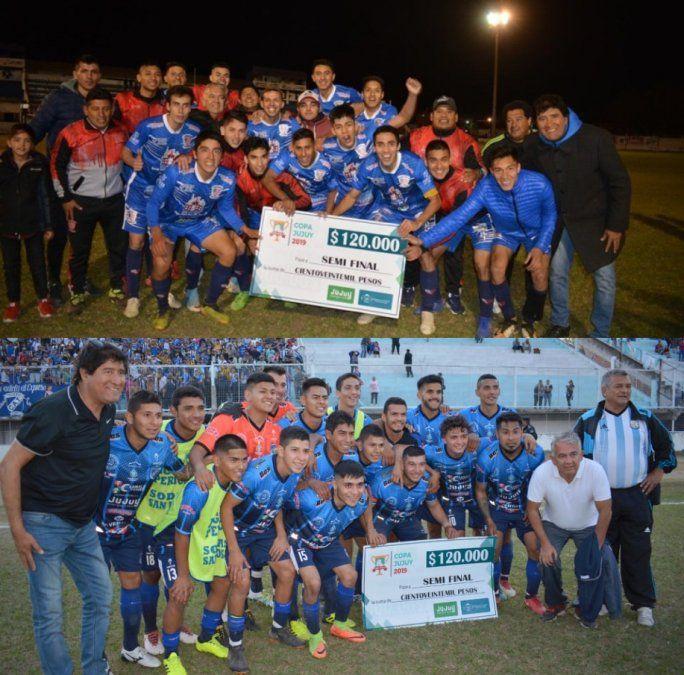 Atlético San Pedro y Talleres en semifinales de la Copa Jujuy