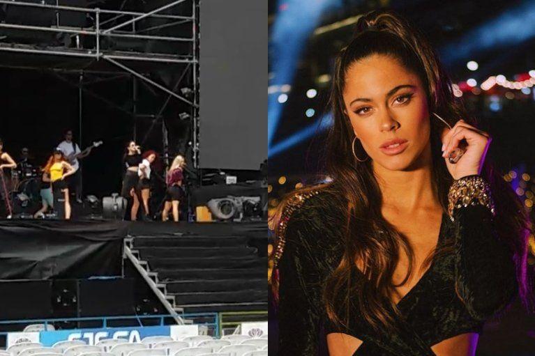 Todo listo para el show de Tini en Jujuy