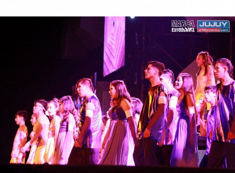 Gran show de los estudiantes en la Elección Nacional