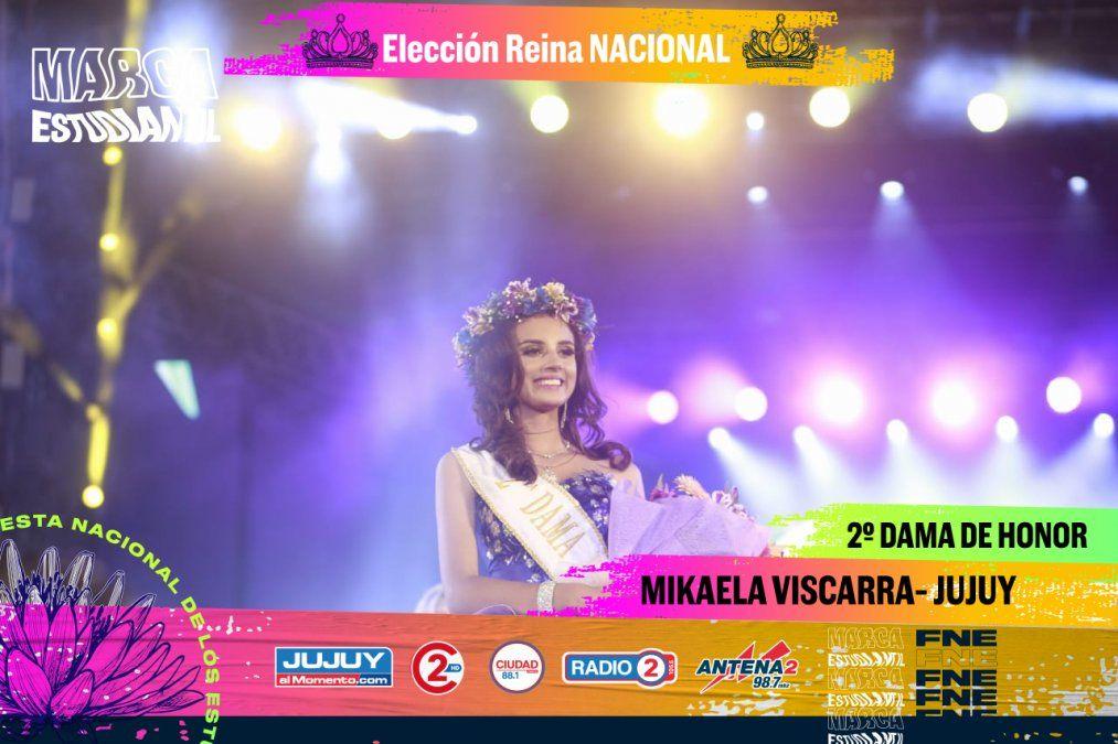 Camila Iglesias es la nueva Reina Nacional