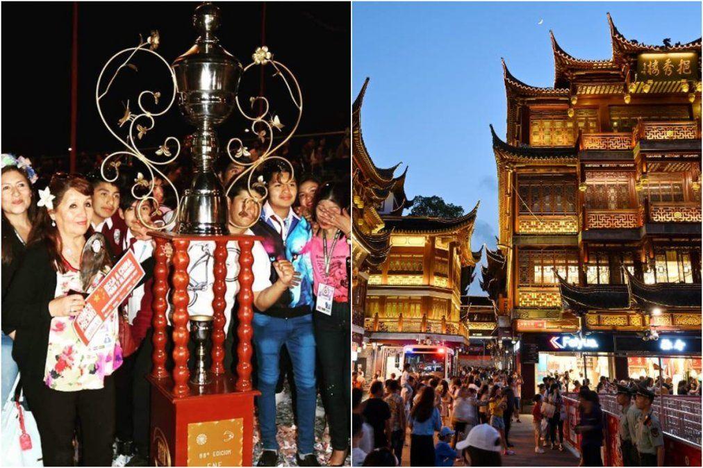 Becas a China, el premio que se ganaron carroceros de cinco colegios