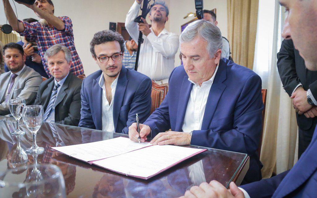 Jujuy firmó un acuerdo con San Juan para la producción de cannabis