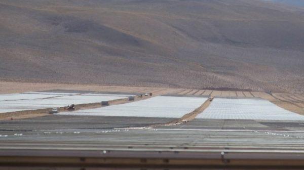 El gobierno inaugura una parte del Parque solar