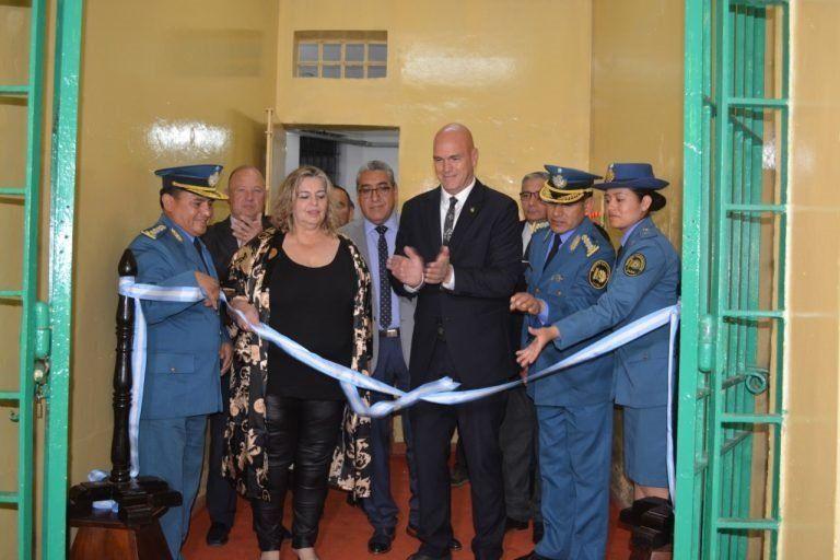 Se reinauguró el Pabellón 4 de la Unidad Penal de Gorriti