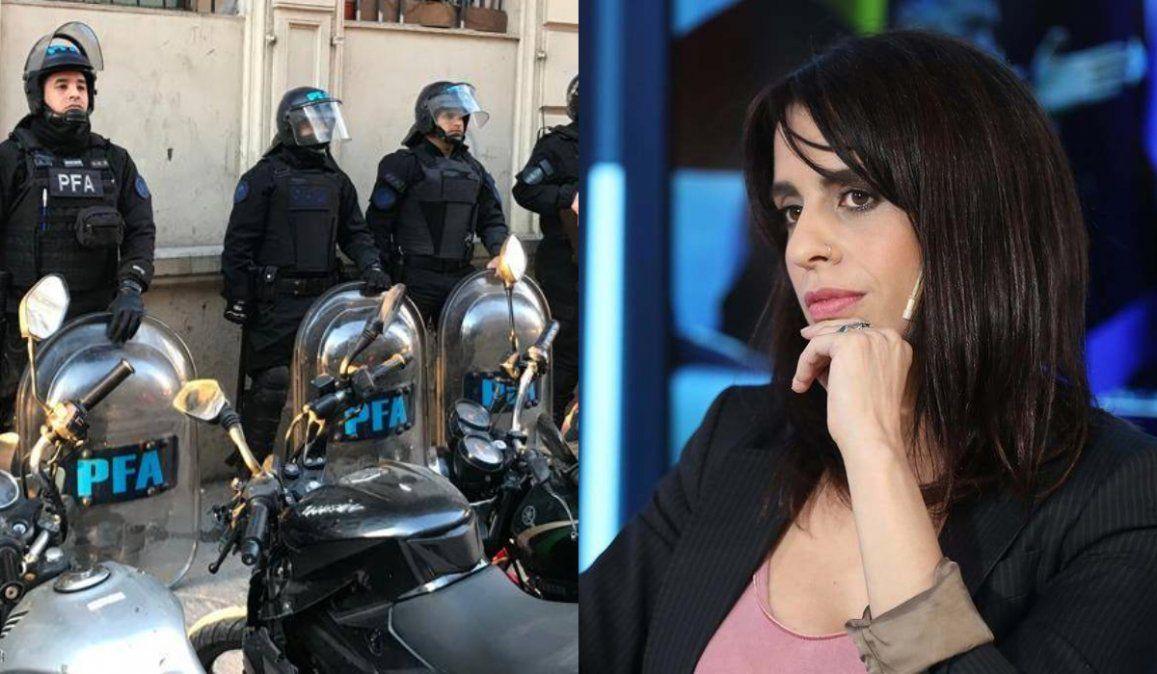Diputada presentó un proyecto para reemplazar la Policia Federal