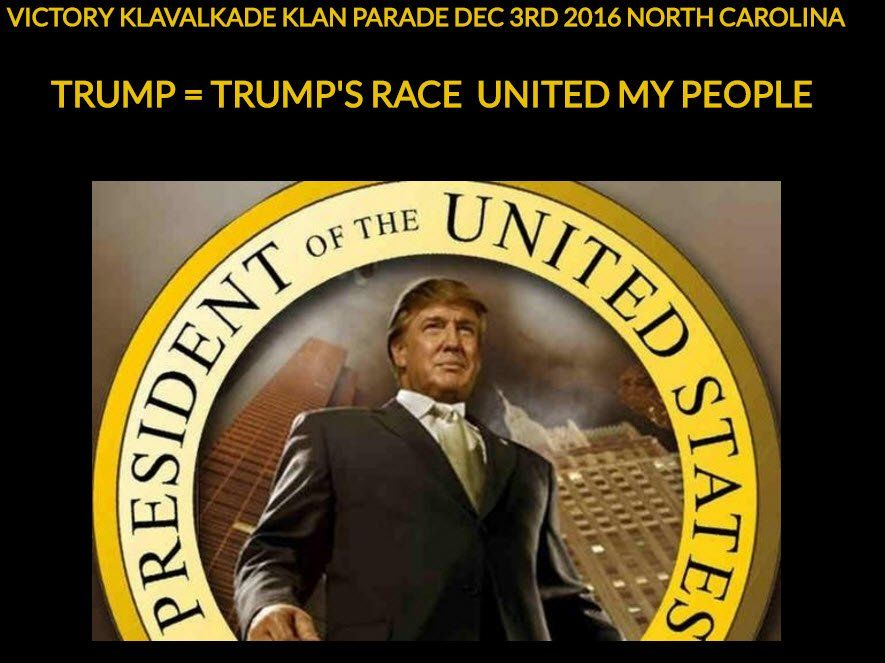 El Ku Klux Klan celebrará con un desfile la victoria de Trump