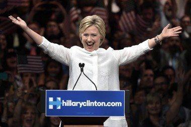 Proclaman a Hillary Clinton candidata presidencial