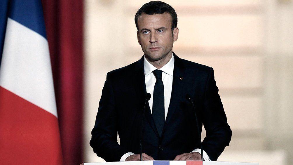 Macron anunció una ley para combatir noticias falsas