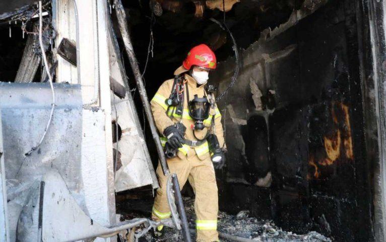 31 muertos y decenas de heridos por incendio en un hospital