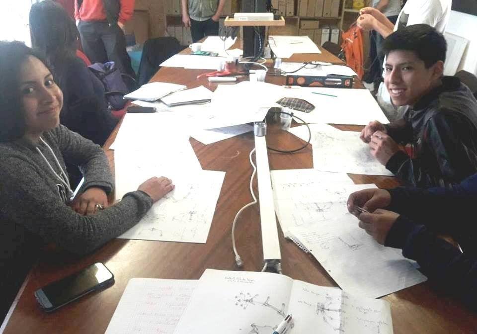 Los estudiantes en Francia trabajan en un proyecto para Jujuy