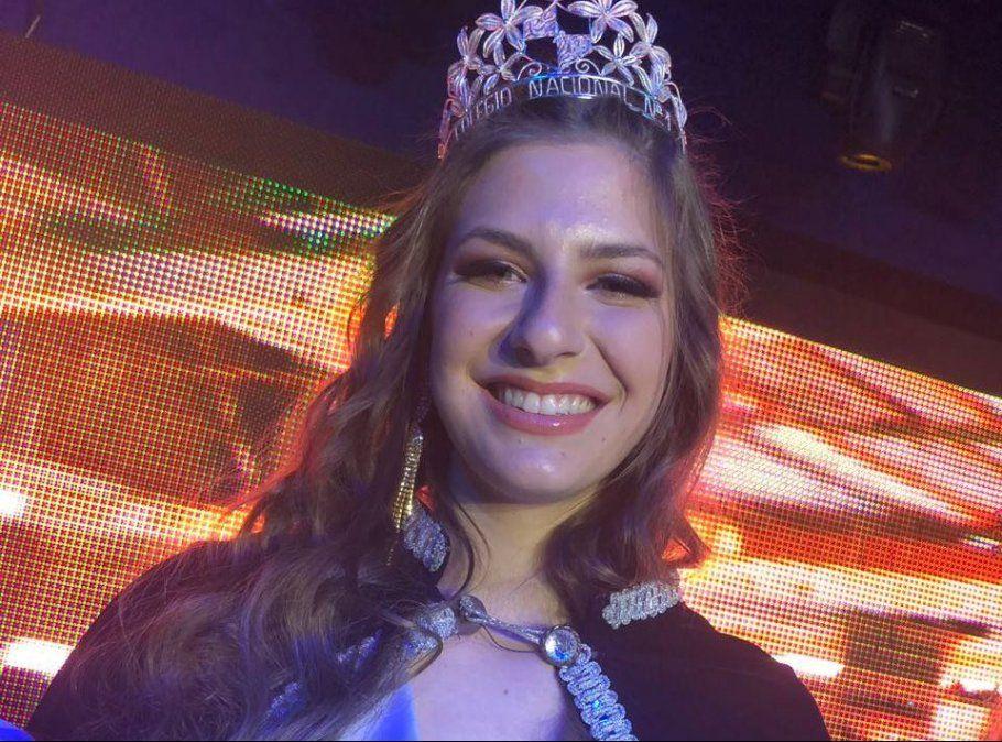 Zoi Lypnik, reina del Colegio Nacional n° 1