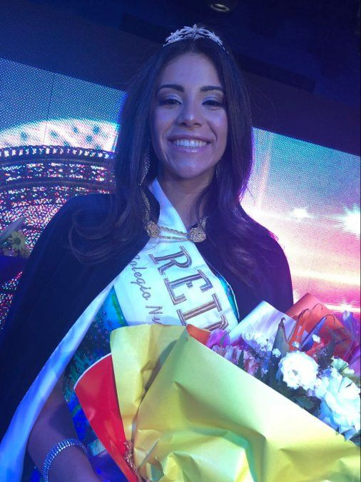 Victoria Dajer, la reina elegida del Nueva Siembra