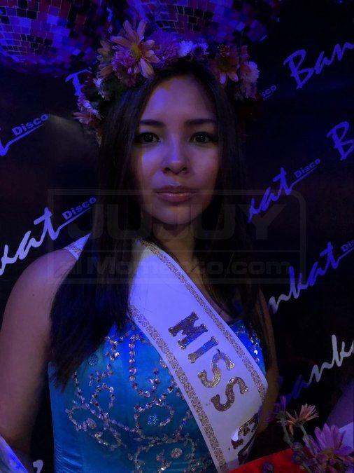 Araceli Gareca, la nueva reina del Secundario N° 2