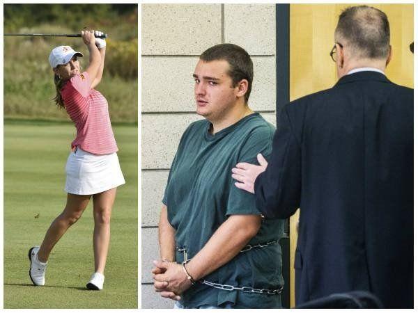 Emotiva y multitudinaria ceremonia de adiós a la golfista española asesinada