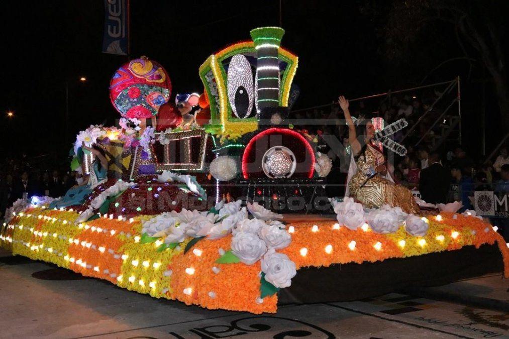 Desfile de carrozas: La entrega de premios será el domingo
