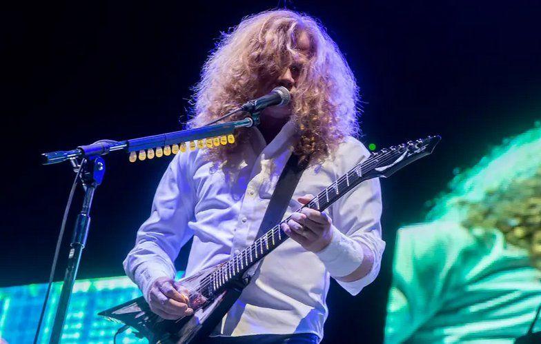 El cantante de Megadeth fue diagnosticado con cáncer de garganta