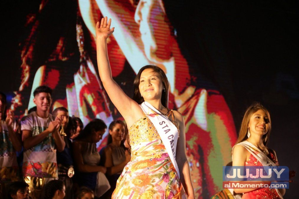 Ambar Luna Saad es la nueva reina de Jujuy