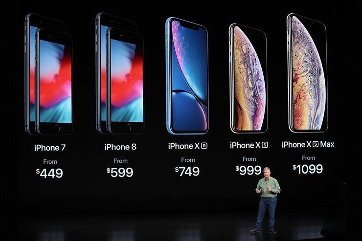 Apple presentó tres nuevos smartphones