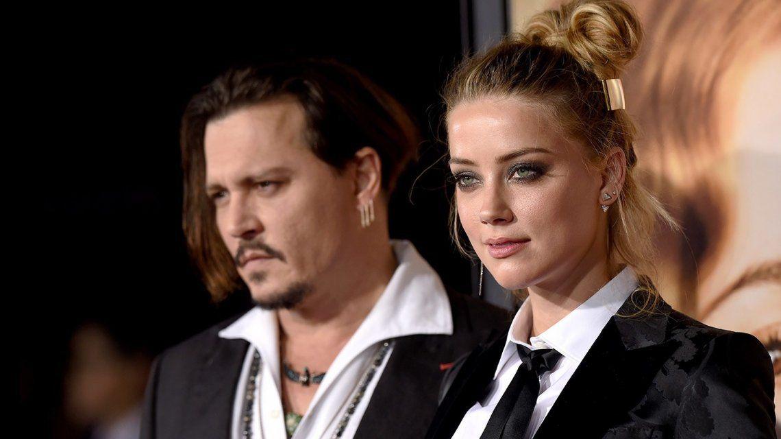 Johnny Depp habría intentado perjudicar a su ex Amber Heard ante Warner Bros