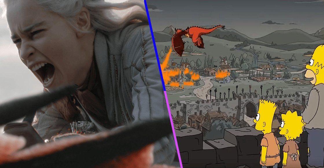 Los Simpson y una increíble predicción sobre Game Of Thrones
