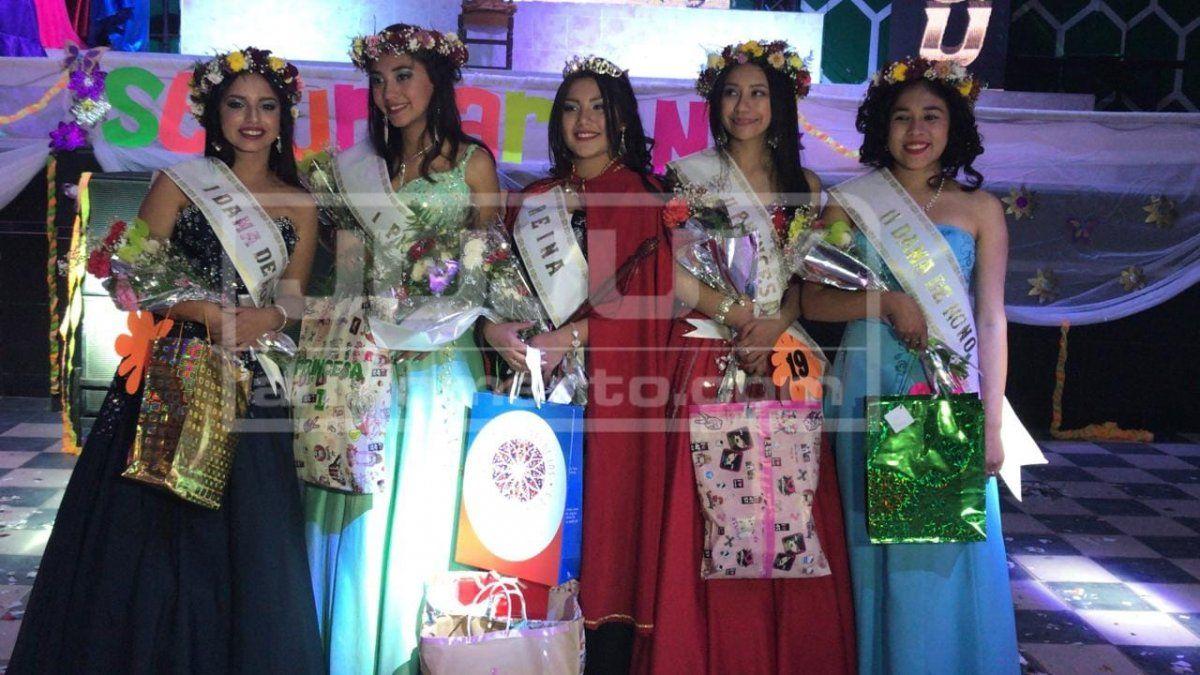 Narella Burgos es reina del Colegio Secundario N° 1