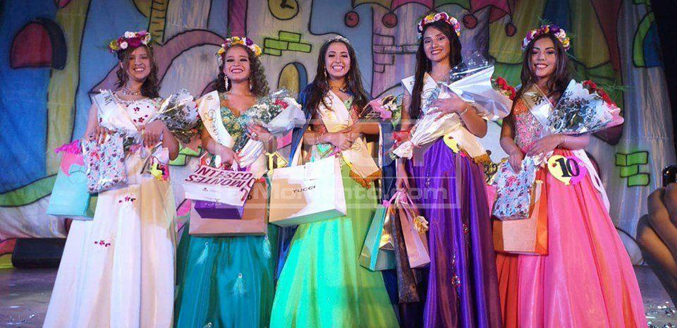Ana Carolina Ortiz es la nueva reina del Colegio Modelo