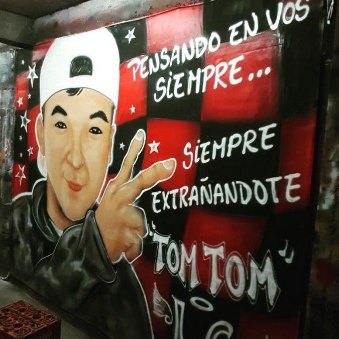 La emotiva bandera de los Santos que recordará a Joaquín Zerda
