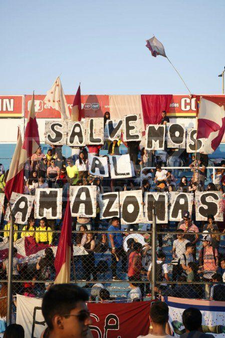 Salvemos el Amazonas, el mensaje de dos colegios jujeños