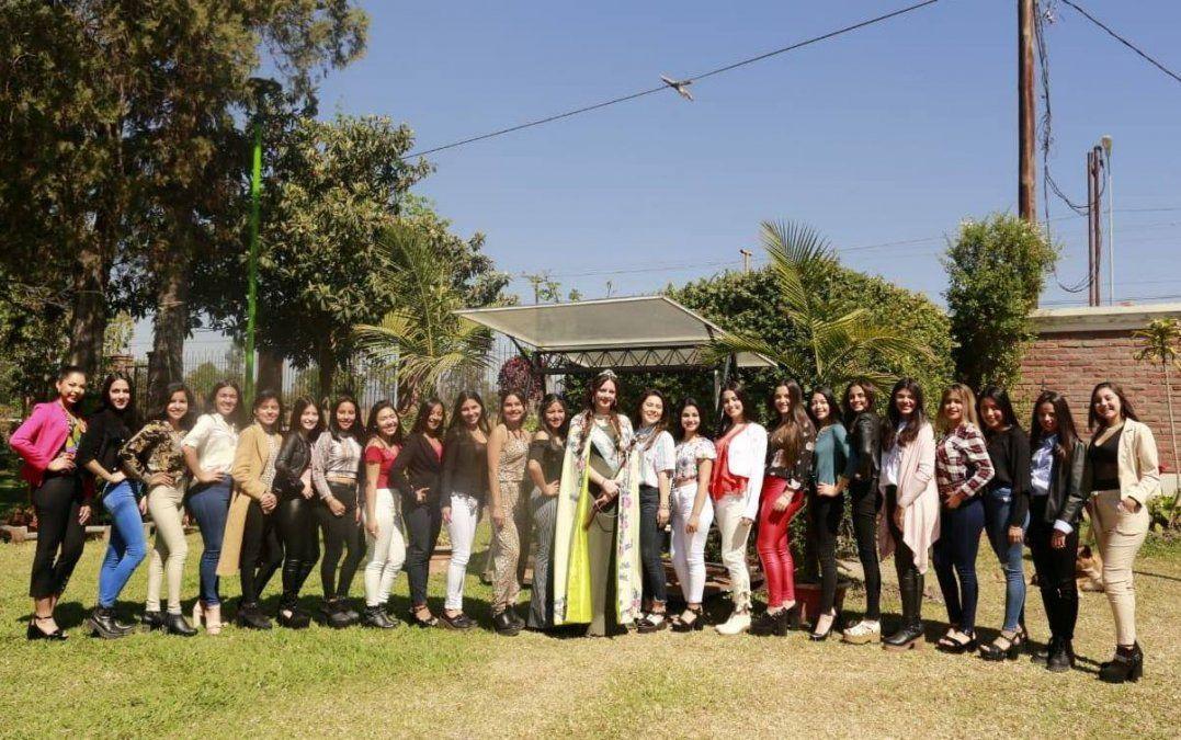 Todo listo para la Elección Reina Departamental de El Carmen