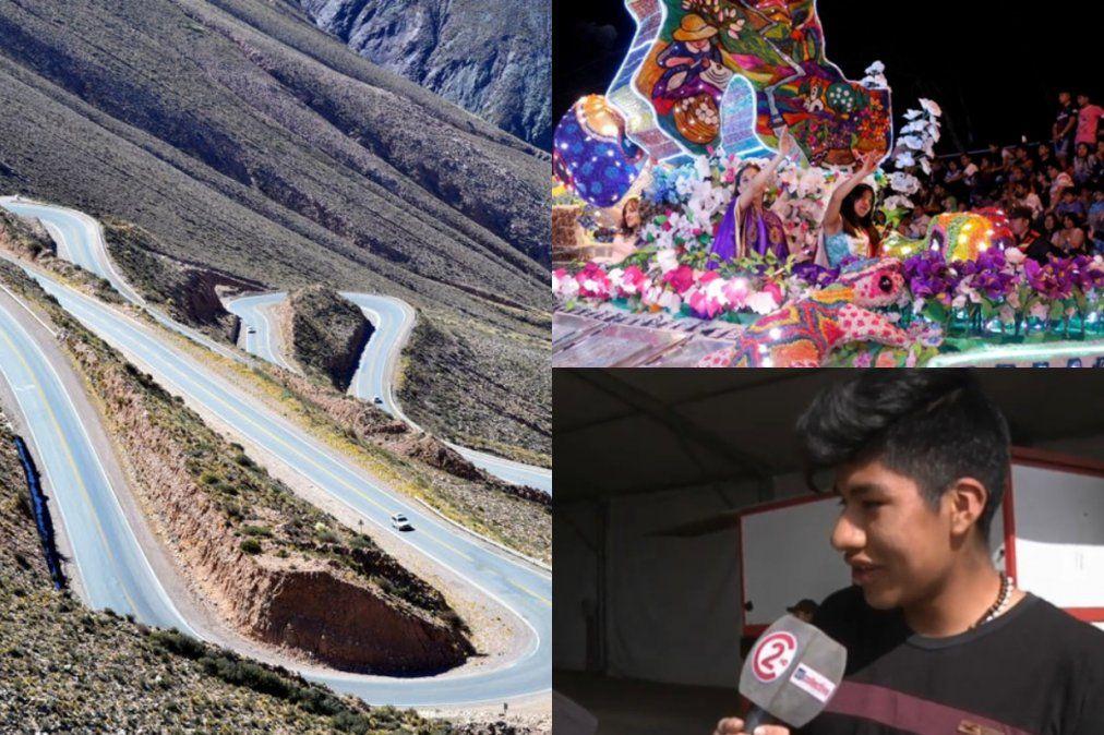 La carroza que baja cada año por la Cuesta de Lipán ya llegó a Ciudad Cultural