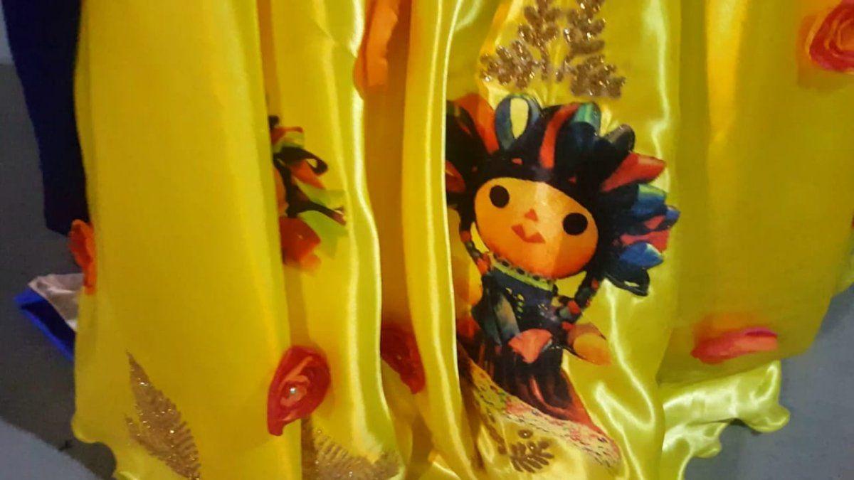 Un vestido a tono con la carroza