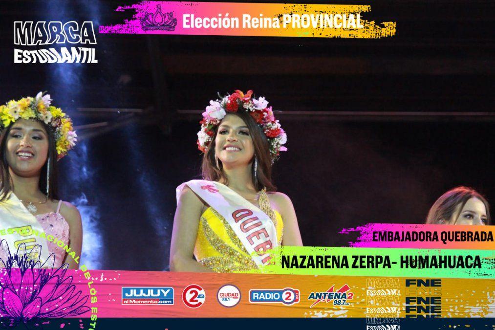 Mikaela Viscarra es la nueva reina de Jujuy