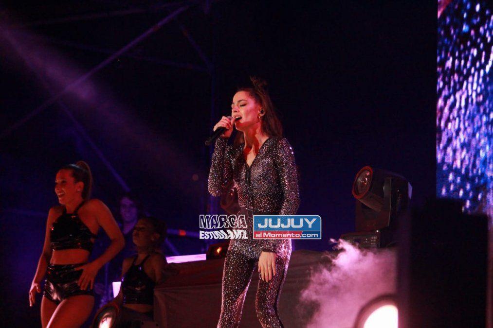 A puro ritmo, el show de Tini en Jujuy