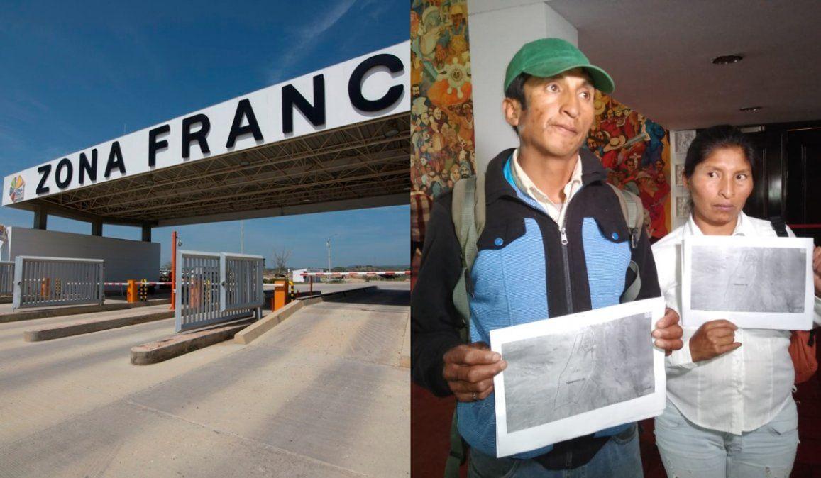 Comunidad aborigen rechaza la expropiación de tierras para  la zona franca